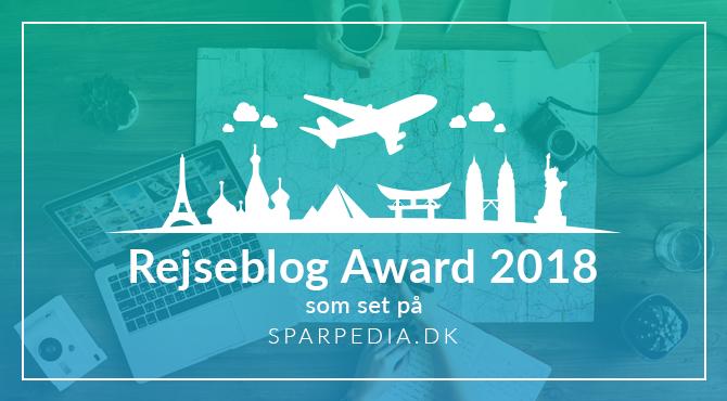 Rejseblog Award 2018